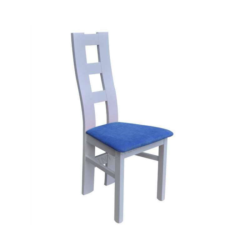 Białe Krzesło Do Salonu Jadalni Window 102 Cm Bestmeble4you
