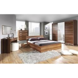 Duże łóżko z pojemnikiem 180 cm POLA P9