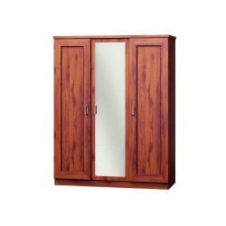 TADEO T15 Duża szafa trzydrzwiowa z lustrem, kolory