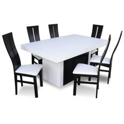 RICARDO RS45 Nowoczesny stół rozkładany 4 METRY!
