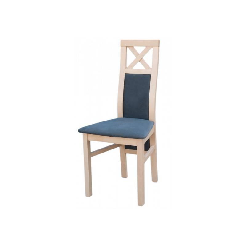 DAMA eleganckie krzesło do salonu, nogi LUDWIK