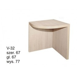 Duże biurko narożne WERONA
