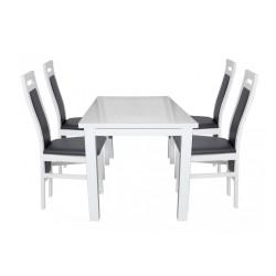 Stół biały wysoki połysk BRILLANT 1, rozmiary