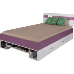 NEXT 18: Łóżko młodzieżowe 120x200 cm