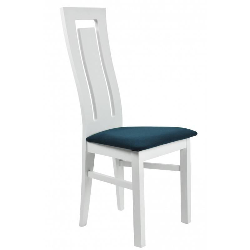 Białe krzesło drewniane RAMZES