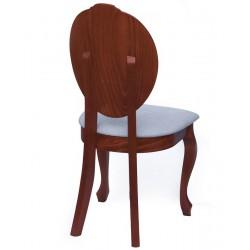 Eleganckie krzesło drewniane SONIA w stylu ludwikowskim, kolory