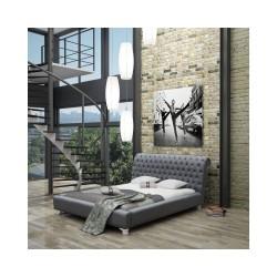ROYAL B 160x200 Łóżko tapicerowane do sypialni