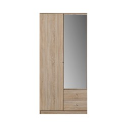 OPTIMO Szafa z lustrem i szufladami OP3