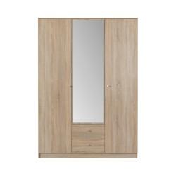 Pojemna szafa trzydrzwiowa do garderoby OPTOMO 2