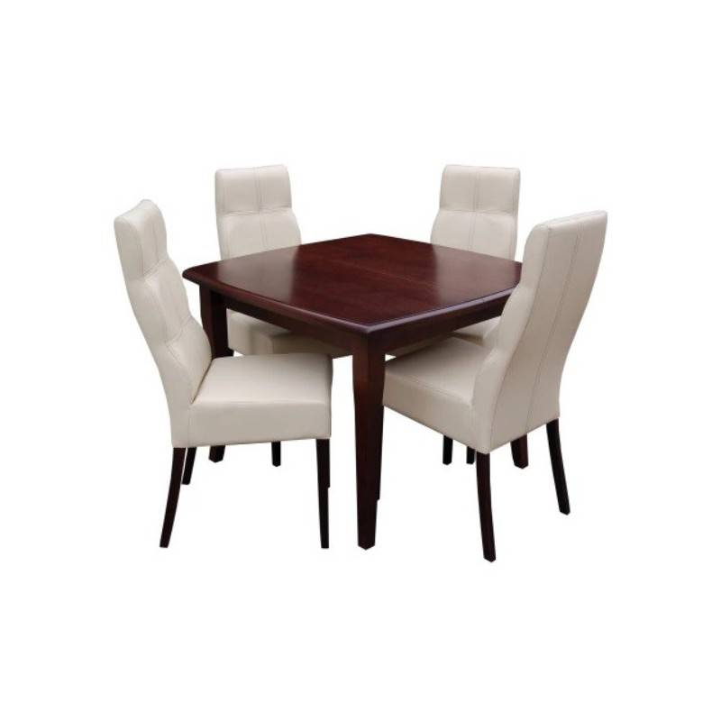 RICARDO zestaw: stół RS30 + 4 krzesła KR 63