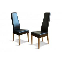 Eleganckie krzesło tapicerowane FIGARO