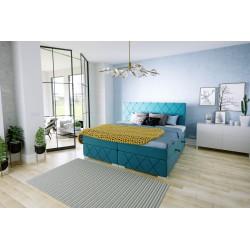 LARETTO T9 łóżko kontynentalne 140x200