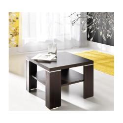 Stolik kwadratowy / ława z półką 60 x 60 cm