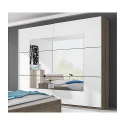 BETA 2 Nowoczesna szafa z lustrem do sypialni