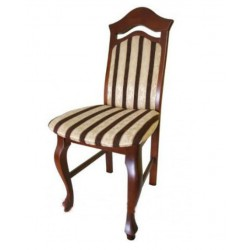 Stylowe krzesło VICTORIA, nogi ludwik