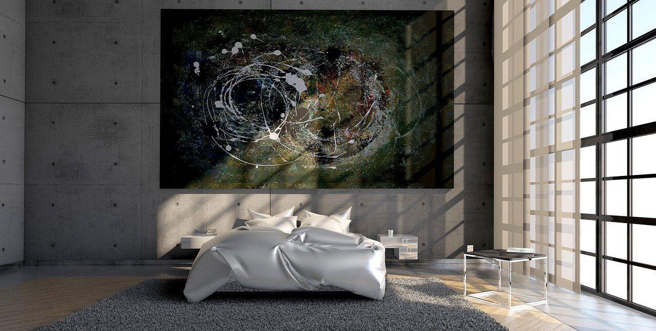 Aranżacja sypialni w stylu loftowym
